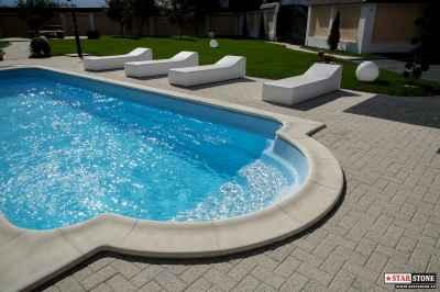 Bordura piscina - Roma 30 - 02